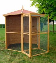 Voliere kiosque pts oiseaux as4501